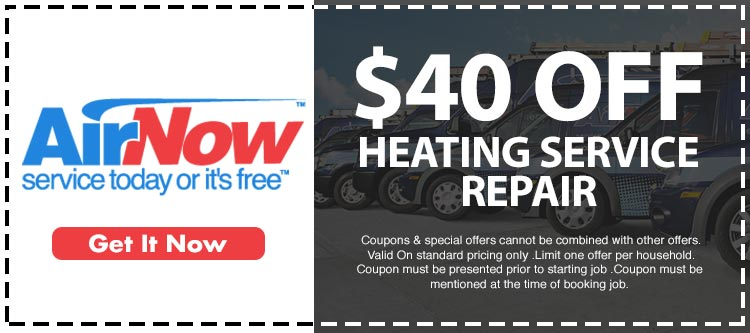 discount on heating repair